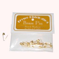 bryson coilless brass pins