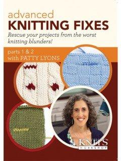 advanced knitting fixes DVD