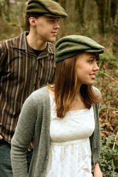 bekah knits adult newsie cap