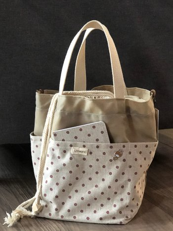 cotton living project tote