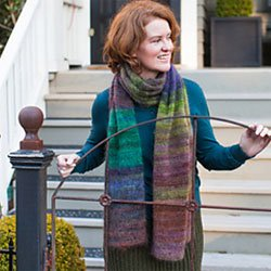 churchmouse colorplay mohair scarf