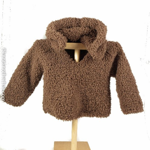 jill monier cuddly cozy baby sweater (.pdf download)