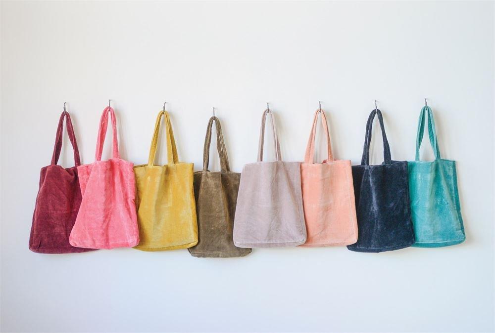 velvet project pouches