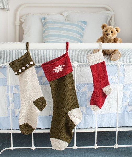 churchmouse basic christmas stockings