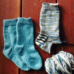 knitting pure & simple #245 child's lightweight sock