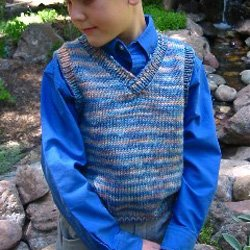 knitting pure & simple #256 childrens vest