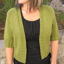 knitting pure & simple #294 open summer cardy