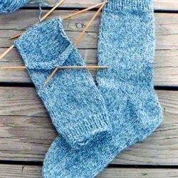 knitting pure & simple #9728 beginner socks