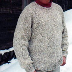 knitting pure & simple #991 mens pullover