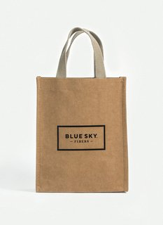 blue sky fibers washable project bag