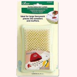 clover needle felting mat