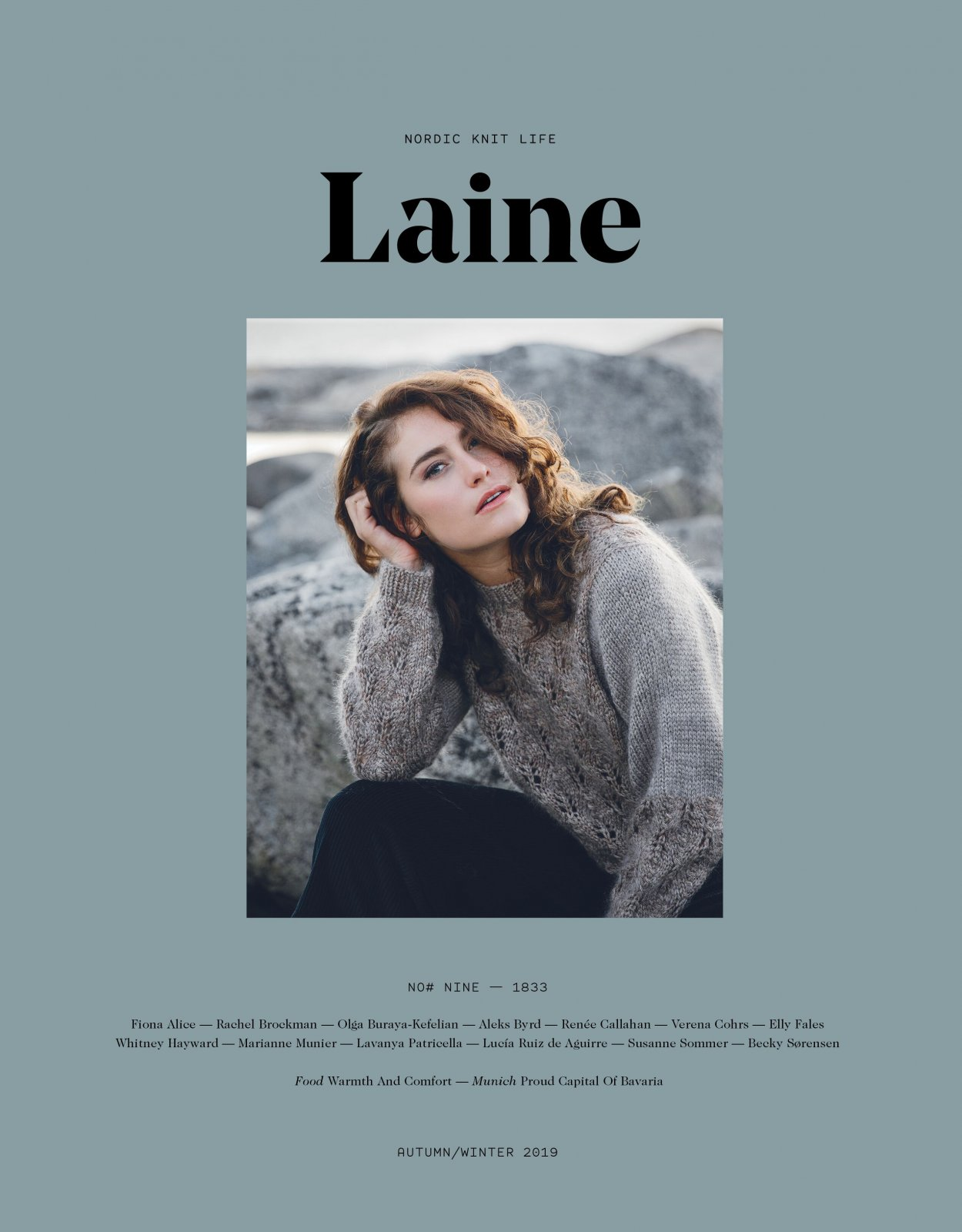 laine magazine issue 9 - pre-order now