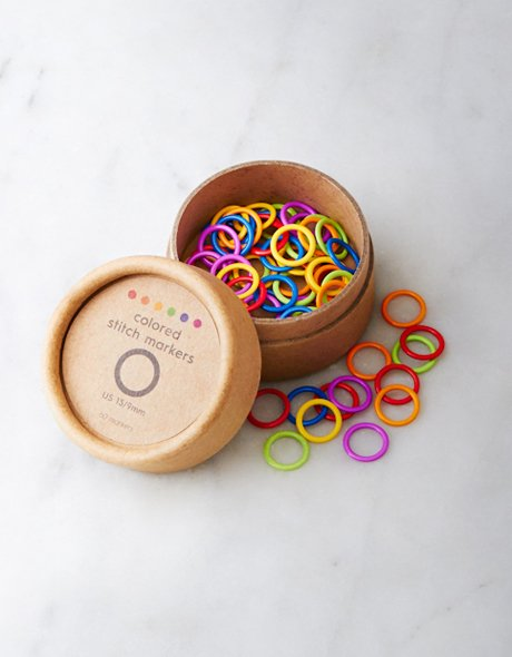 cocoknits colored ring markers