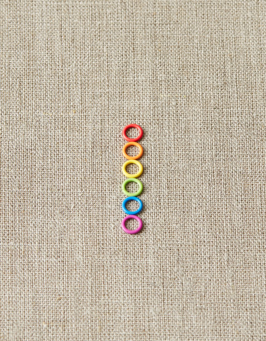 cocoknits colored ring markers - mini