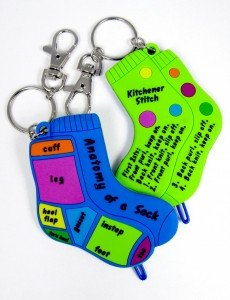 sock doctor keychain