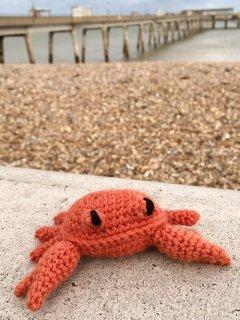 toft UK mini kit - cedric the crab