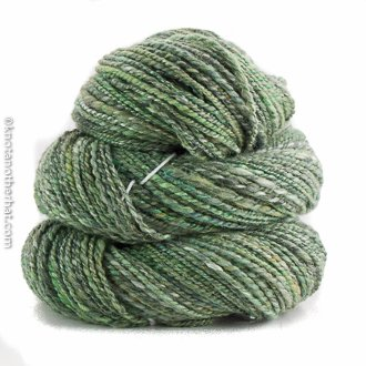 webbspun local handspun yarn