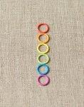 Colored Ring Stitch Markers - Original