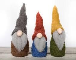 Gnomes Needle Felting Kit