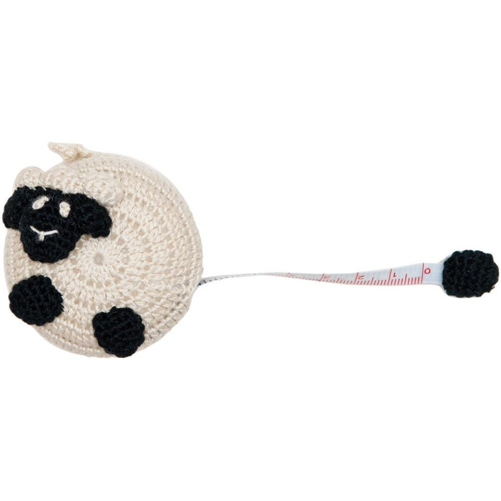 Crocheted Sheep Tape Measure 60 (NM-085316)