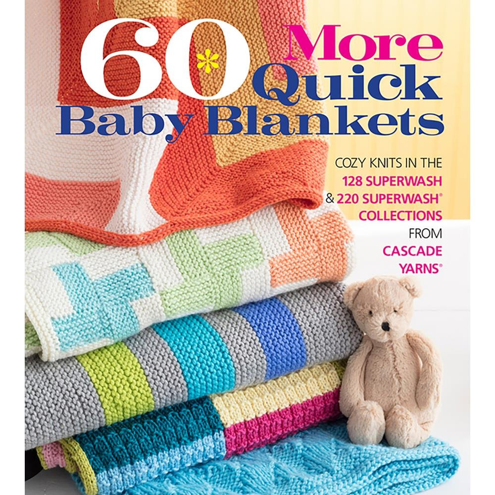 60 More Quick Baby Blankets (NM-163397)