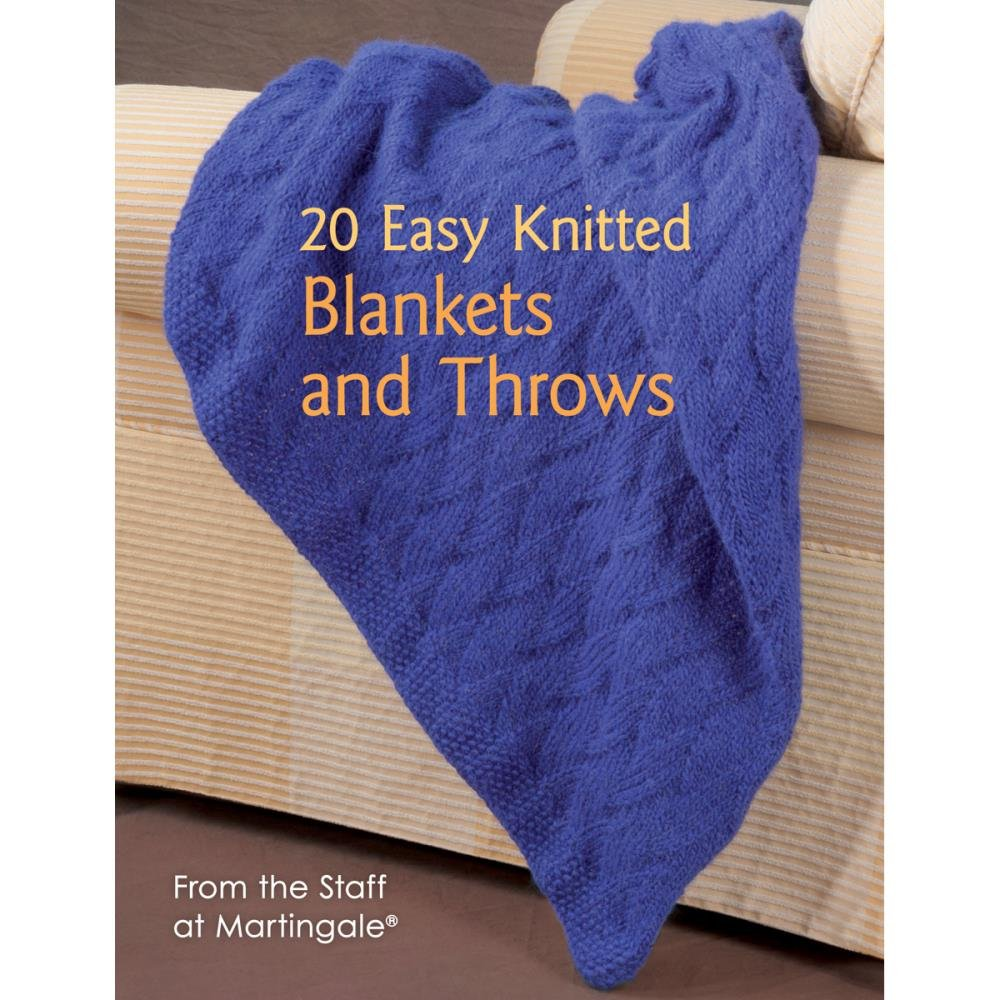 20 Easy Knitted Blankets and Throws (NM-162329)