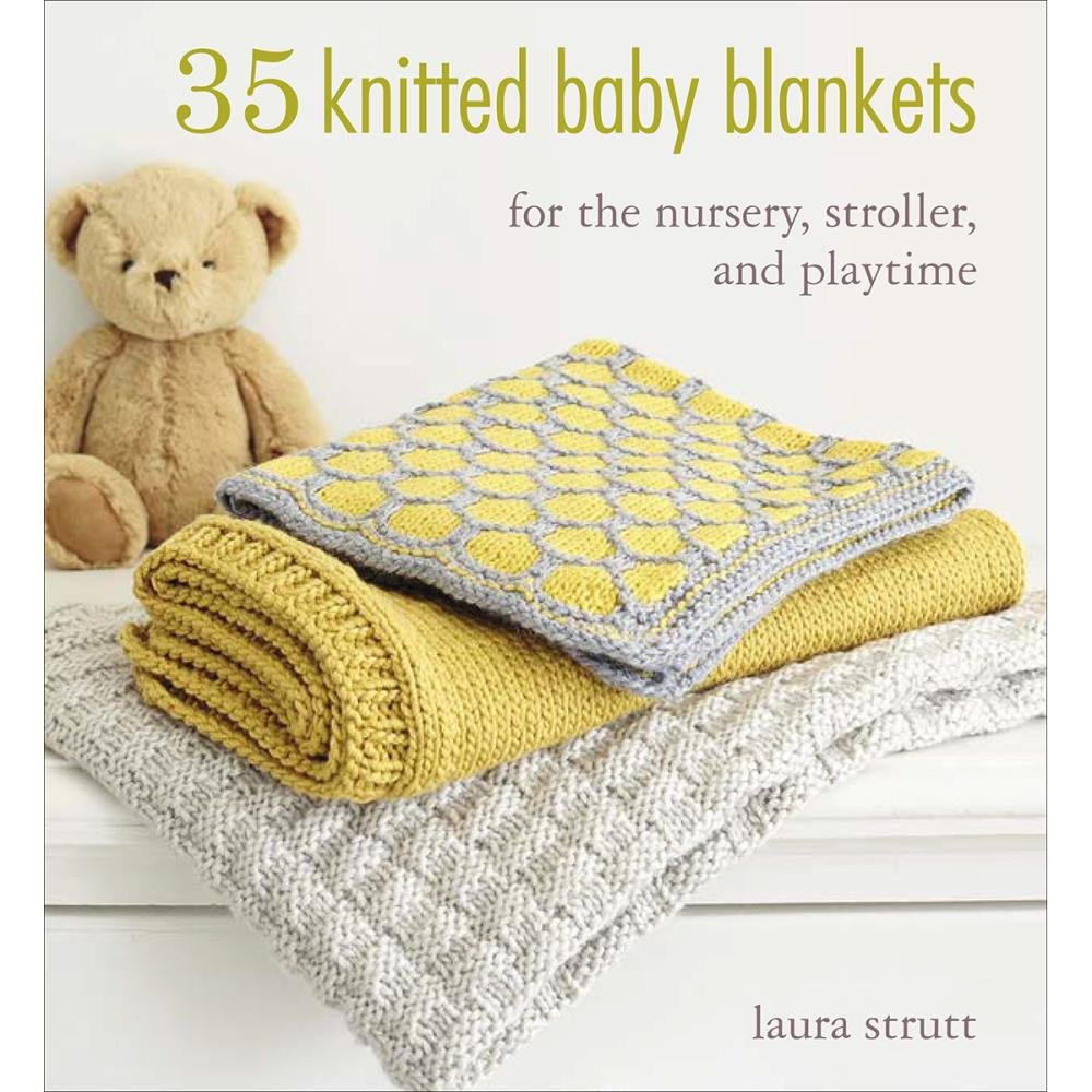 35 Knitted Baby Blankets (NM-245785)