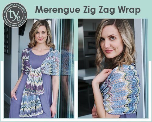 Merengue Yarn Wrap Pattern -- Free with Purchase of Yarn