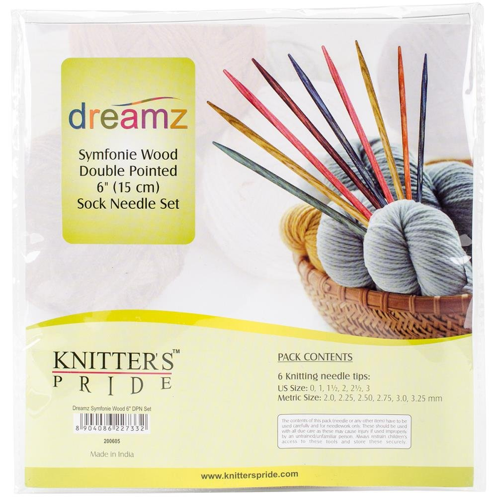 Knitter's Pride Dreamz Double Pointed Needle Set 6