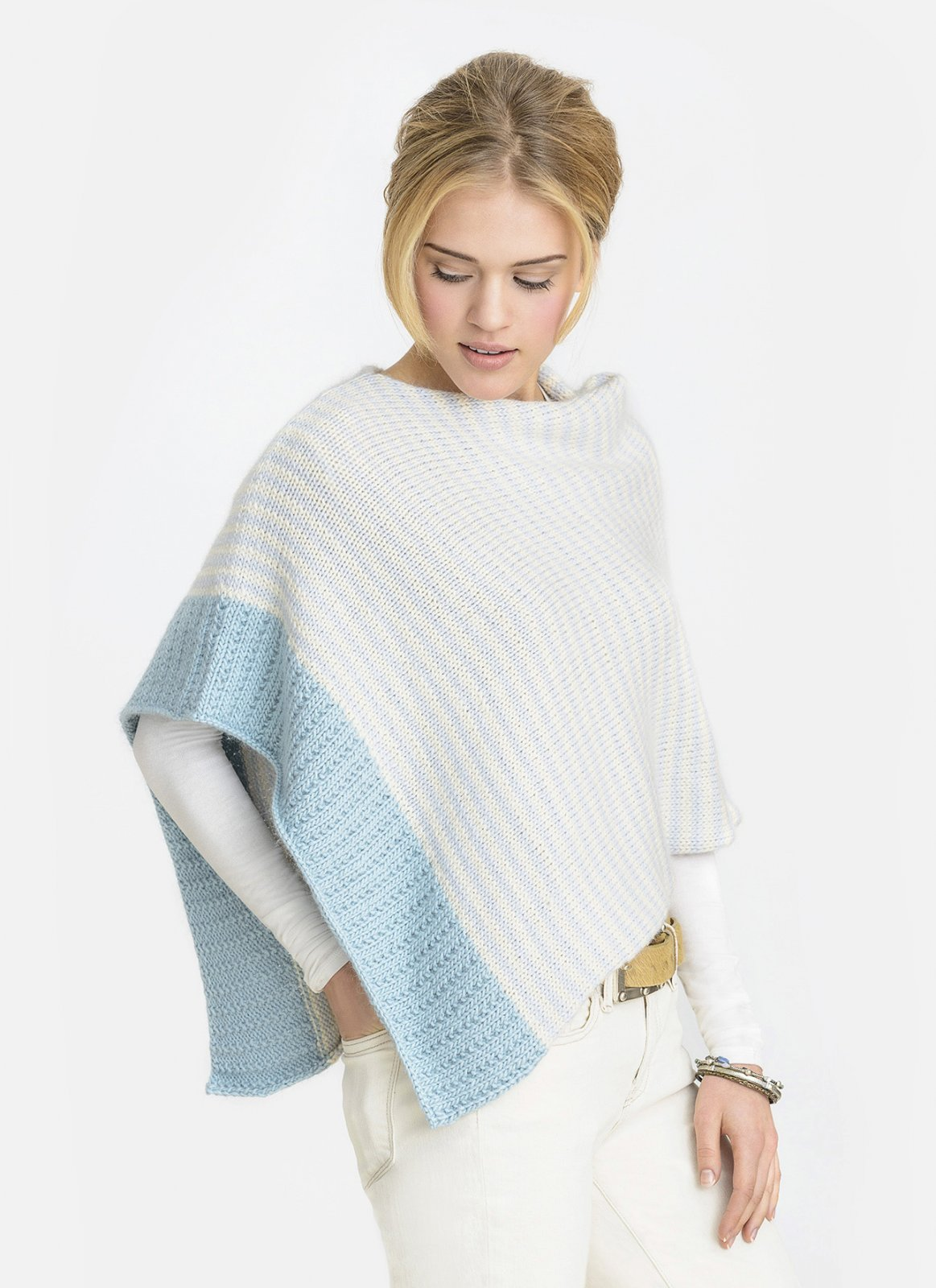 Bianca Wrap pattern by Blue Sky Alpacas (BSA-20151)
