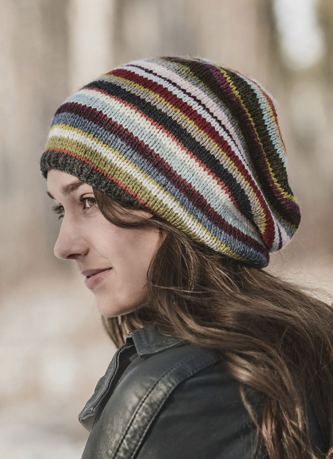 21 Color Slouch Hat Pattern (BSA-201617)