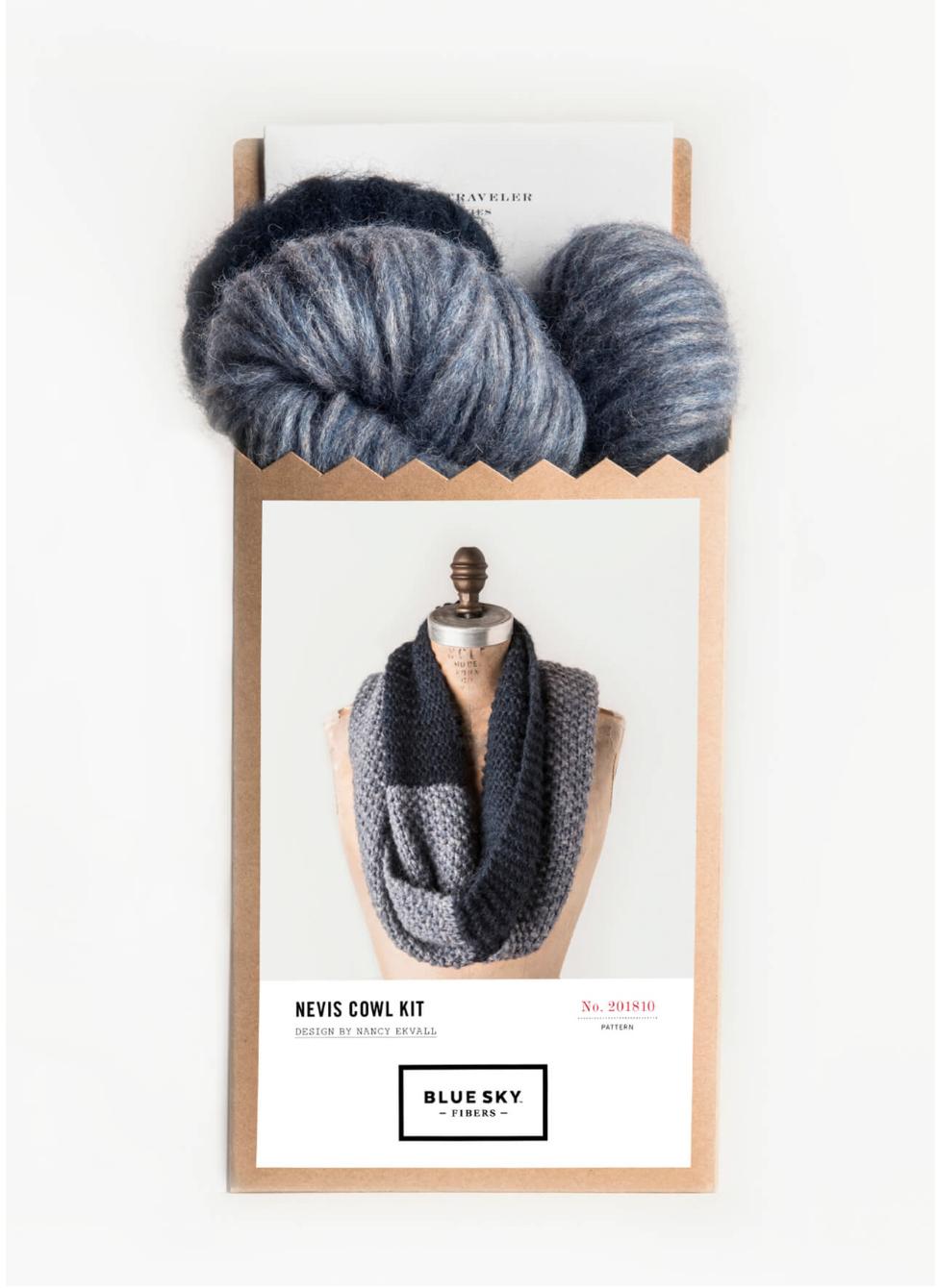 Nevis Cowl Kit by Blue Sky Fibers