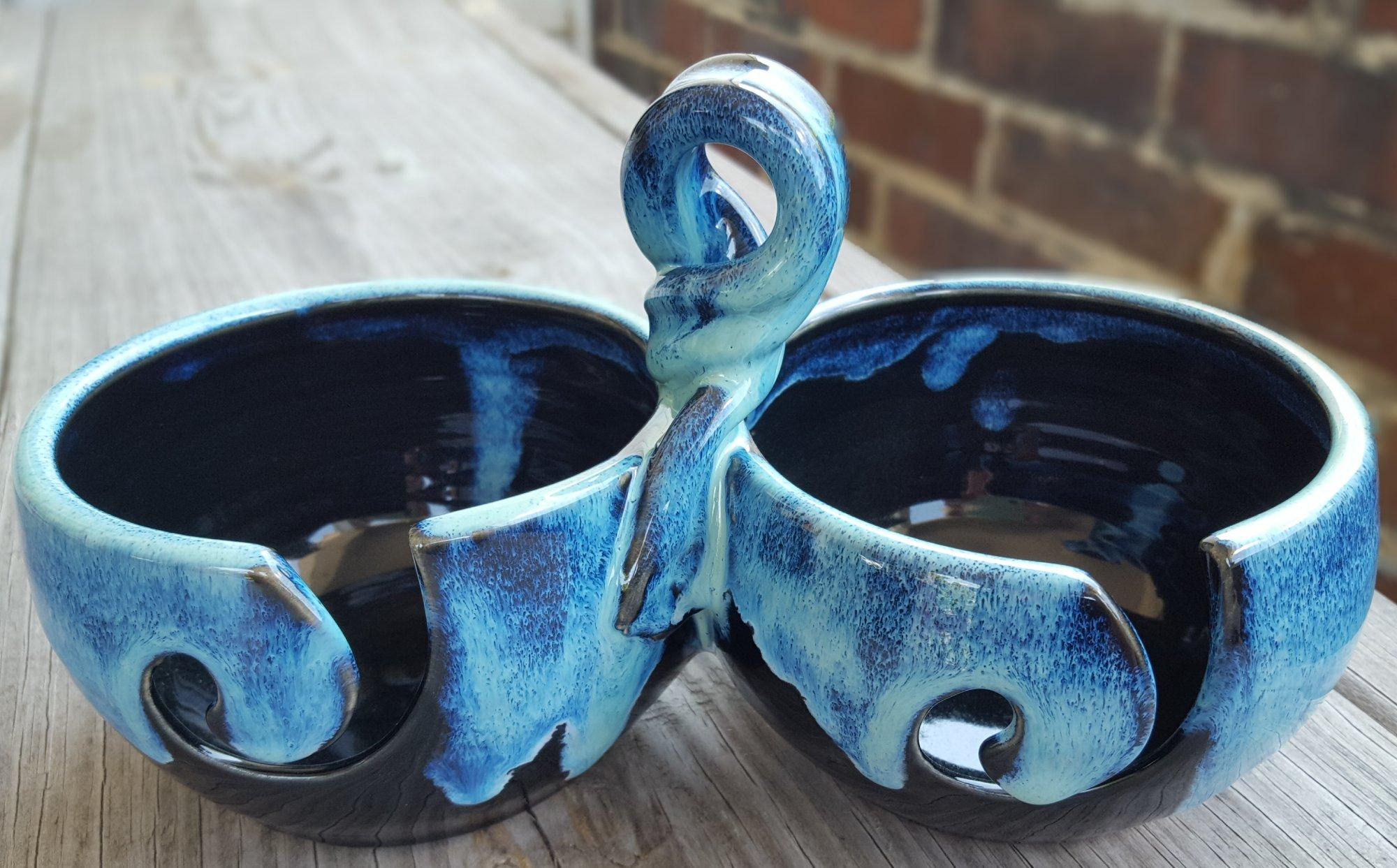 Double Mini Yarn Bowl - Pawley