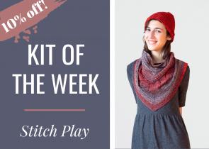 Stitch Play Urth Yarn Uneek Fingering Drop Ship Kit