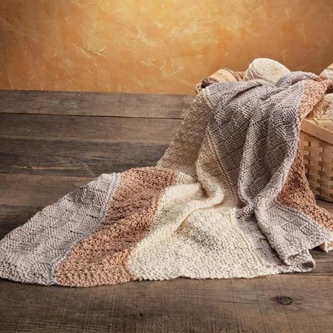 Pick-A-Knit Baby Blanket Kit