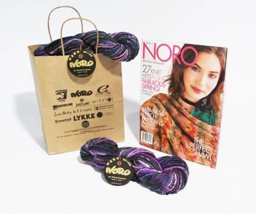 Semicircular Shawl Kit - Noro