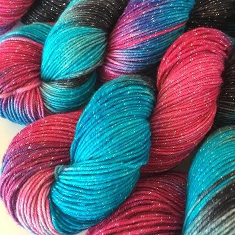 Deep Dyed Yarns- Figment Sock