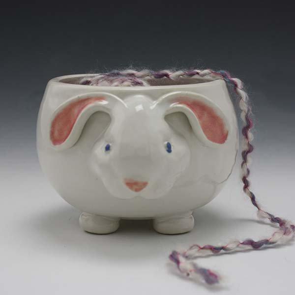 Animal Yarn Bowls - Pawley