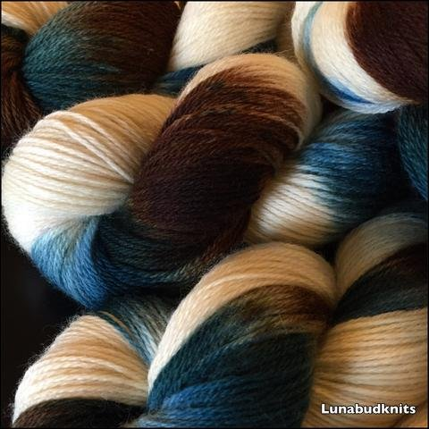 Deep Dyed Yarns- Buddy Sock