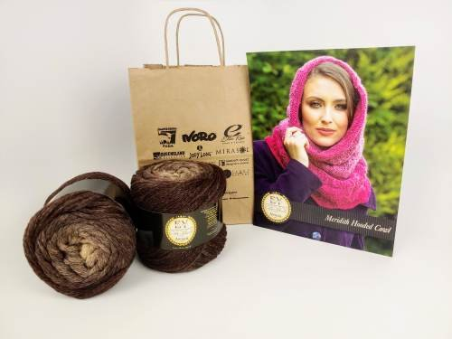 Meridith Hooded Cowl Kit - Euro Yarns