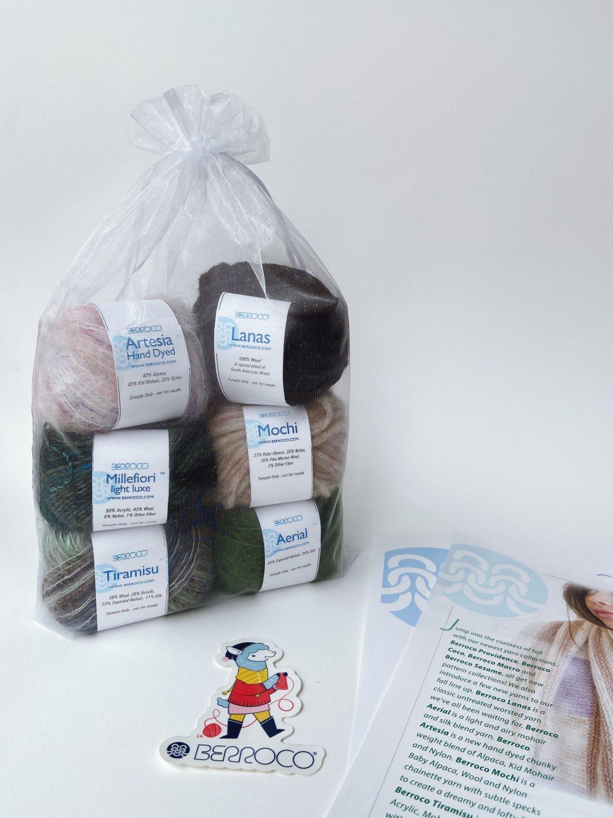 Home Yarn Tasting Kit - Berroco