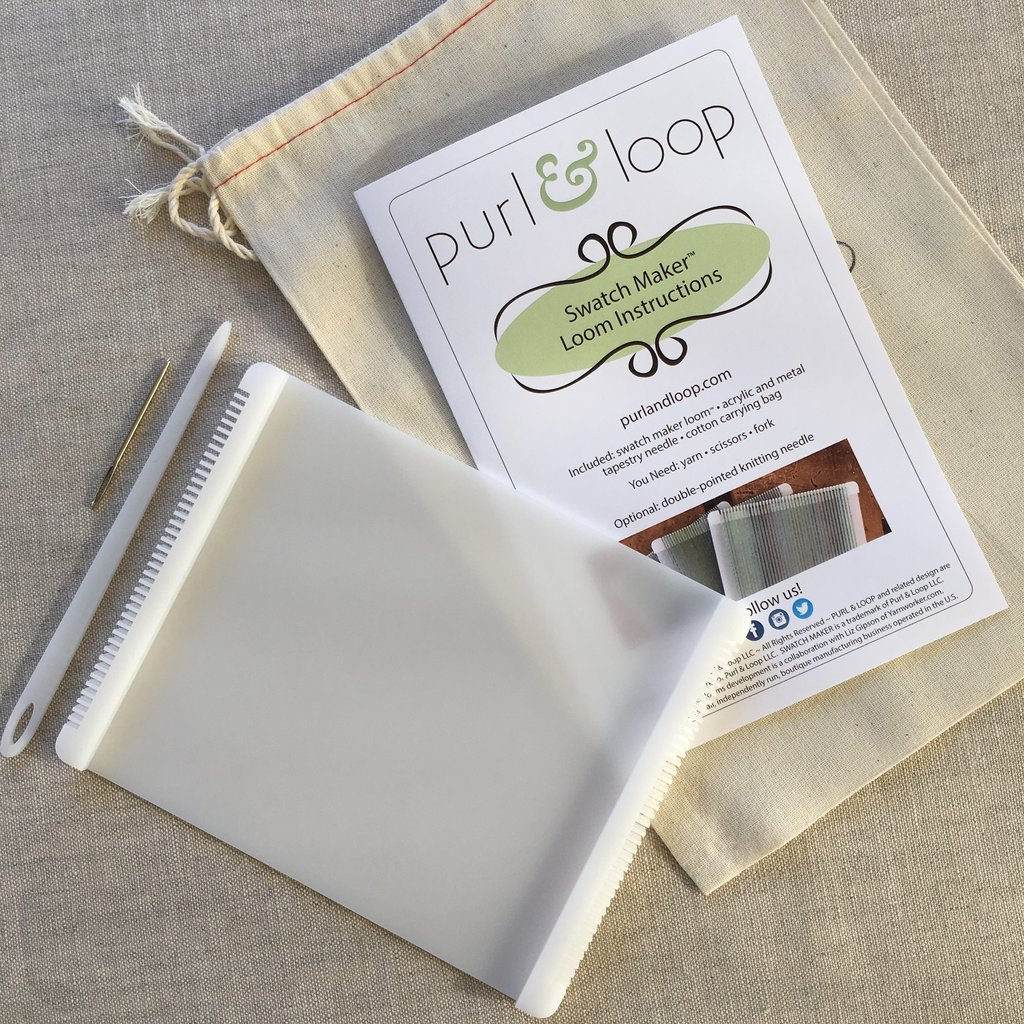 Purl & Loop Swatch Maker Set-Acrylic