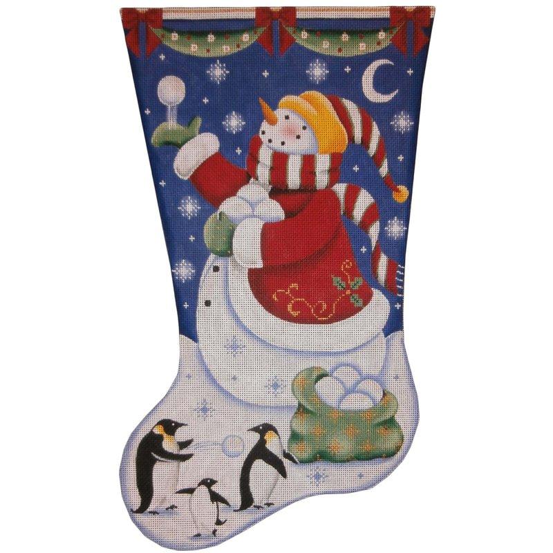 RWD/1393c Christmas Penguins Stocking #13