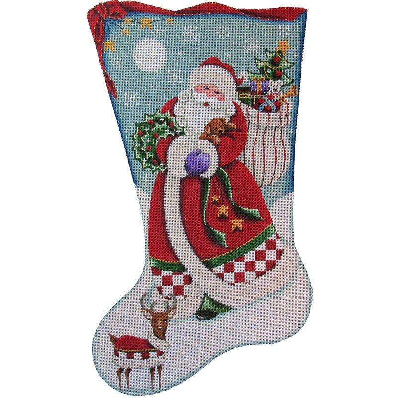 RWD/1396a Santa's Puppy Stocking