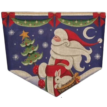 RWD/1471a Santa's Bunny Stocking Cuff #13