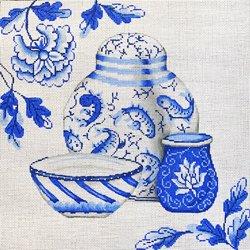 PMD/2008 Blue/White Porcelain Group
