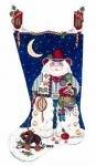 MSD/205S Cowboy Santa Stocking