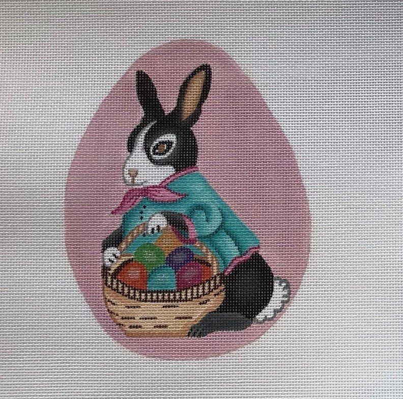 NSD/EA70 Pink Oval Bunny