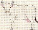 PPD/PT311B Petei Nativity - Cow