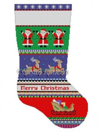 SR/3250 Bold Stripe Reindeers